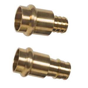 Image of Brass Press x PEX Adapter Fittings - Lead Free