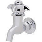 Image of SCV-055 - Self Closing Valve, Chrome Plated, Wall Mounted