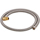 Image of SSDW - Lead Free Braided Stainless Steel Dishwasher Connector w/ 90º Elbow