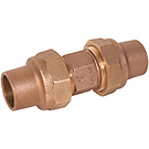 Image of Lead Free WSFCP Flare X Flare Bronze Coupling