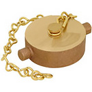 Image of Lead Free Brass Fire Hydrant Adapter & Cap