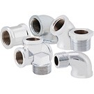 Image of Lead Free Chrome Plated Fittings