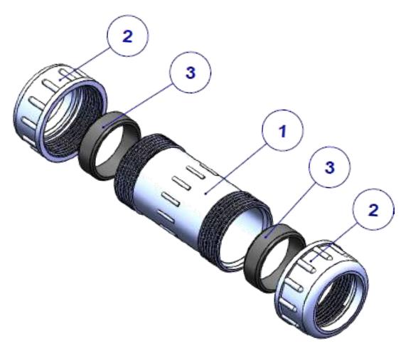 Pvc compression coupling